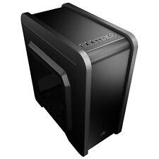 Aero Cool QS240 Black Midi Tower Gaming Case - USB 3.0