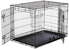 Xl Dog Crate Chain Link Dog Kennel Outdoor Pet Big Dog Cage Extra Large Metal