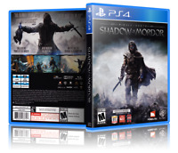 Middle-Earth: Shadow of Mordor - Replacement PS4 Cover and Case. NO GAME!!