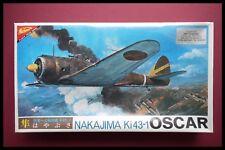 Nichimo Nakajima KI43-1 Oscar japonés 1:48 Modelo Kit