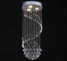 Kristall Hängeleuchte Deckenlampe Pendelleuchte Kronleuchter Lüster spiralförmig