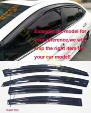 Mugen Style Window Visor Rain Sun Guard Vent For Nissan Sentra 2012 2013 2014