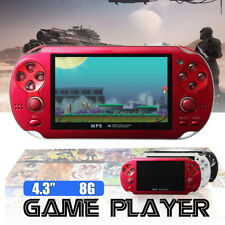4.3'' 8GB Handheld PSP Video Game Console MP5 MP6 Player Built-in 2000 Games