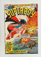 Superboy #167 - Superbaby Blew Up The World - (Grade 9.0) 1970