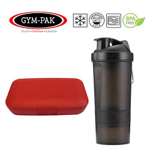 1x Protein Shaker And Pill Case