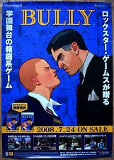 BULLY: Canis Canem Edit RARE PS2 XBOX 360 51.5 cm x 73 Japanese Promo Poster