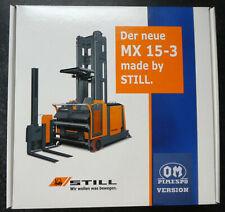 NZG Still MX 15-3   Kommissionsstapler  NZG 467  Pimespo Version  1:25  OVP NEU