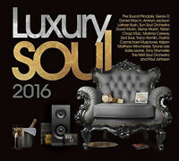 Various Artists : Luxury Soul 2016 CD 3 discs (2016) ***NEW*** Amazing Value