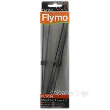 5 X FLYMO Soplador De Hojas Vac trituración línea fly024 líneas gardenvac Turbo 1800 2200