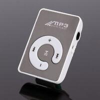 Mirror Portable Mini Clip MP3 Player Mini USB Digital Music Player Walkman New
