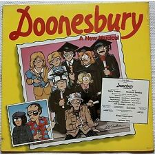 Doonesbury a new musical - LP VINYL OST 1983 SIGILLATO SEALED