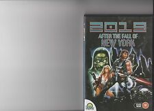 2019 AFTER THE FALL OF NEW YORK DVD RETRO RATED 18