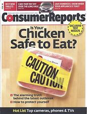 Consumer Reports Magazine February 2014 Tablets Cars that pay off Chicken Safe?