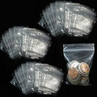 """2000 - 2"""" x 3"""" Zip Lock 2x3 Plastic Bags 2 MIL Reclosable Poly Clear"""
