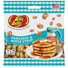 PANCAKES AND MAPLE SYRUP - Jelly Belly Candy Jelly Beans - 3.1 oz BAG - 12 PACK