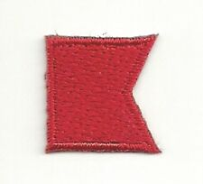 International Maritime Nautical Signal Flag Letter B Bravo Embroidery Patch