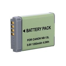 Polaroid High Capacity Canon NB-13L Rechargeable Lithium Replacement Battery