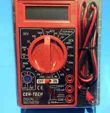 7 Function Digital Volt Meter Battery Diode Transistor Test Dvm Car Truck Farm