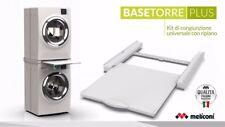 Supporto Base Torre Plus lavatrice asciugatrice Meliconi con ripiano - Rotex