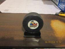 Echl Peoria Rivermen In Glas Co Paddle Wheel Logo Hockey Puck