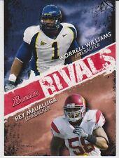 2009 Bowman Draft Rivals #R10 Worrell Williams/Rey Maualuga
