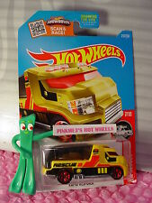 RAPID RESPONSE #217✰Yellow; Red 5sp✰ 2016 Hot Wheels HW RESCUE✰Case P