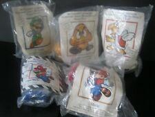 "Nintendo Super Mario Bros. 3  ""Complete 5 Toy Set""  NIP McDonald's 1990"