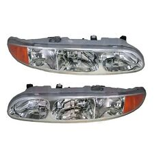 TIFFIN ALLEGRO BAY 2004 2005 2006 PAIR LEFT RIGHT HEADLIGHTS HEAD FRONT LAMPS RV
