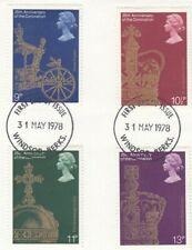 (54626) GB Used Coronation 1978 ON PIECE