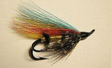 Jock Scott (hair wing) #6 double  Salmon hook