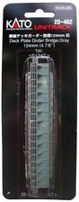 "KATO N Scale Unitrack 124mm 4 7/8"" Deck Plate Girder Bridge Gray 20-462"
