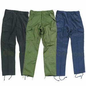6 Poche Combat Uni Travail Pantalon Vêtement de Uniforme Sécurité Police Armée