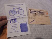 Ancienne Enveloppe Illustrée Machine à Coudre , Vélo Bicyclette ; Meuble : Lyon