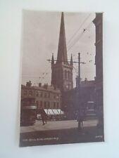 WAKEFIELD, Bull Ring Vintage Judges Real Photo Postcard Frankd 1921  §B1543