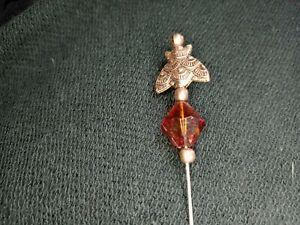 Hat Pin Stick Pin Retro Victorian Steampunk Handmade Unique Collectible