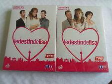 DVD  SERIE TELE  LE  DESTIN DE LISA  COFFRET No 5 et COFFRET No 6