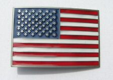 USA United States Stars and Stripes Belt buckle
