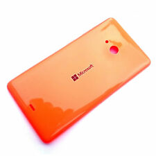 100% Genuine Microsoft Lumia 535 rear battery cover+side buttons Orange back