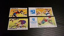 HONG KONG 1992 SG 696-699 OLYMPIC GAMES MNH