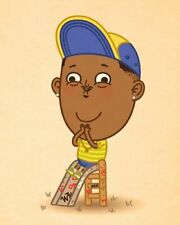 ON THE PLAYGROUND - Giclee by MIKE MITCHELL - xx/50 - FRESH PRINCE - JLU