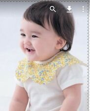 bibs for girls~ NEW style of bib that is trendy and CUTE-4pack