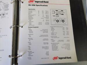 Ingersoll-Rand VR-1056 Telescopic Material Handler Literature