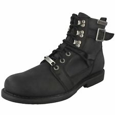 Mens Harley Davidson Lace Up Ankle Boots 'Harrison D93438'
