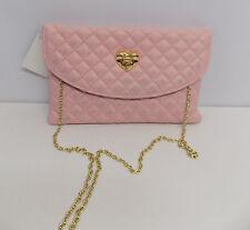 Borsa donna love moschino ecopelle rosa  tracolla bags