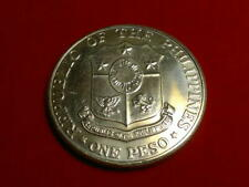 1967 1 Peso 25th Anniversary of Bataan Day silver coin