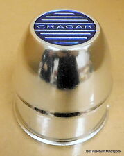 "Cragar Wheel Center Cap, 3-5/8"" Pilot Hole, Sold Each, NEW-Old Stock,"