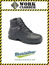 Blundstone Black Waxy Leather Lace Up Boot With Steel Cap 312 NEW WITH TAGS!