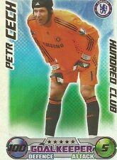 Match Attax 0809 Peter Cech Chelsea FC 100 Club  FREE UK P&P