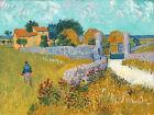 "Vincent van Gogh : ""Farmhouse in Provence"" (1888) — Giclee Fine Art Print"