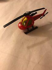 matchbox 1982 1/110 FIRE DEPT. JET HELICOPTER MB60-red